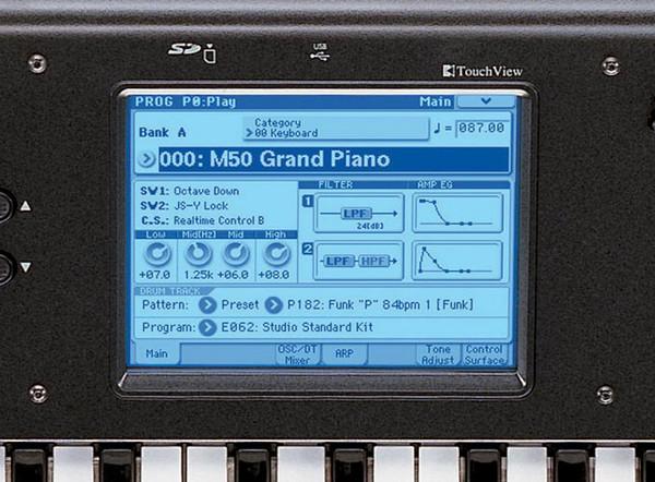 disc korg m50 88 key music workstation at gear4music. Black Bedroom Furniture Sets. Home Design Ideas