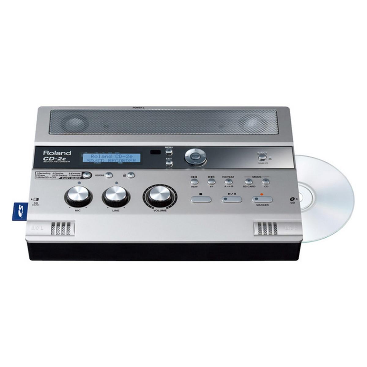 roland cd 2e sd cd recorder at gear4music com rh gear4music com