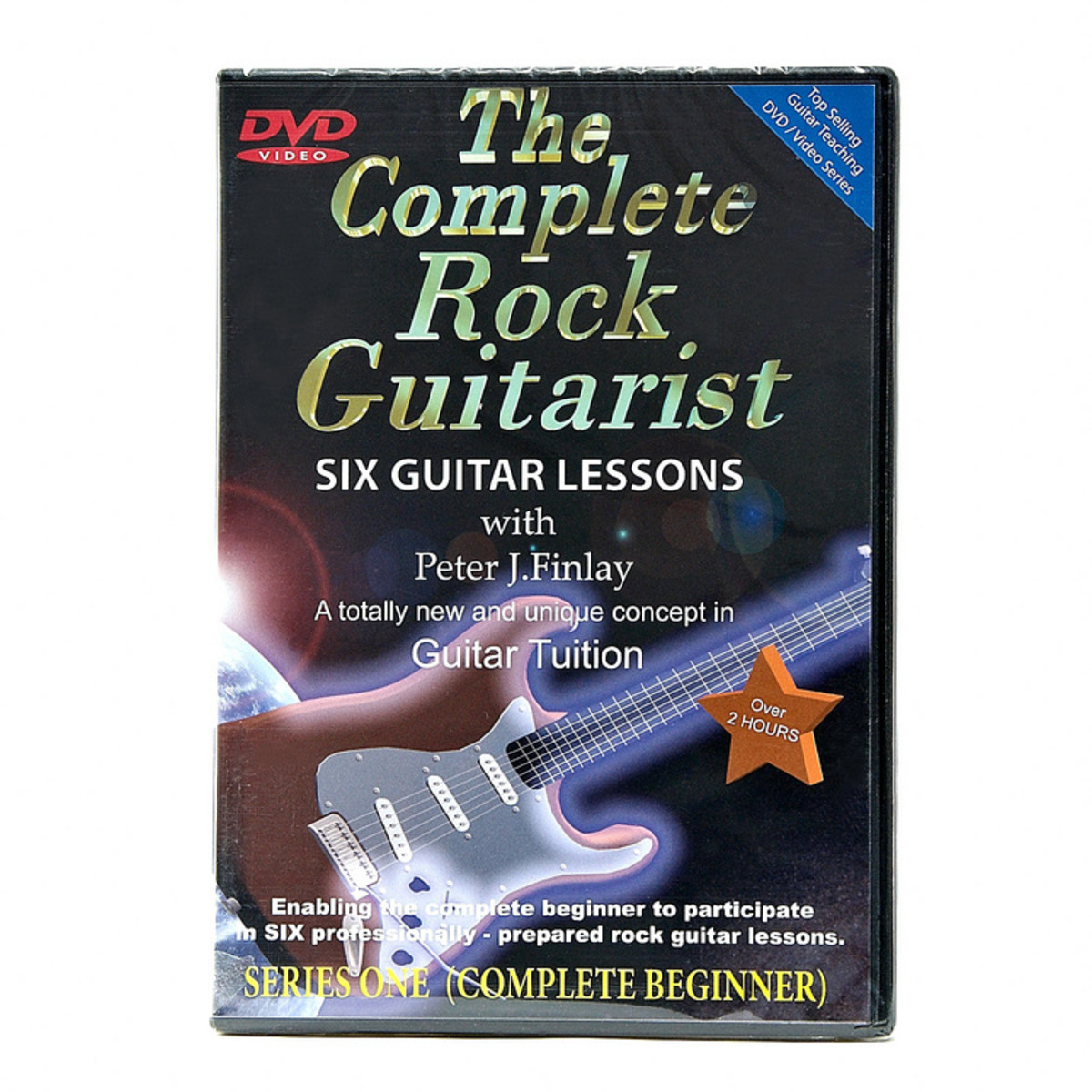 The Complete Rock Guitarist Dvd Series 1 At Gear4music