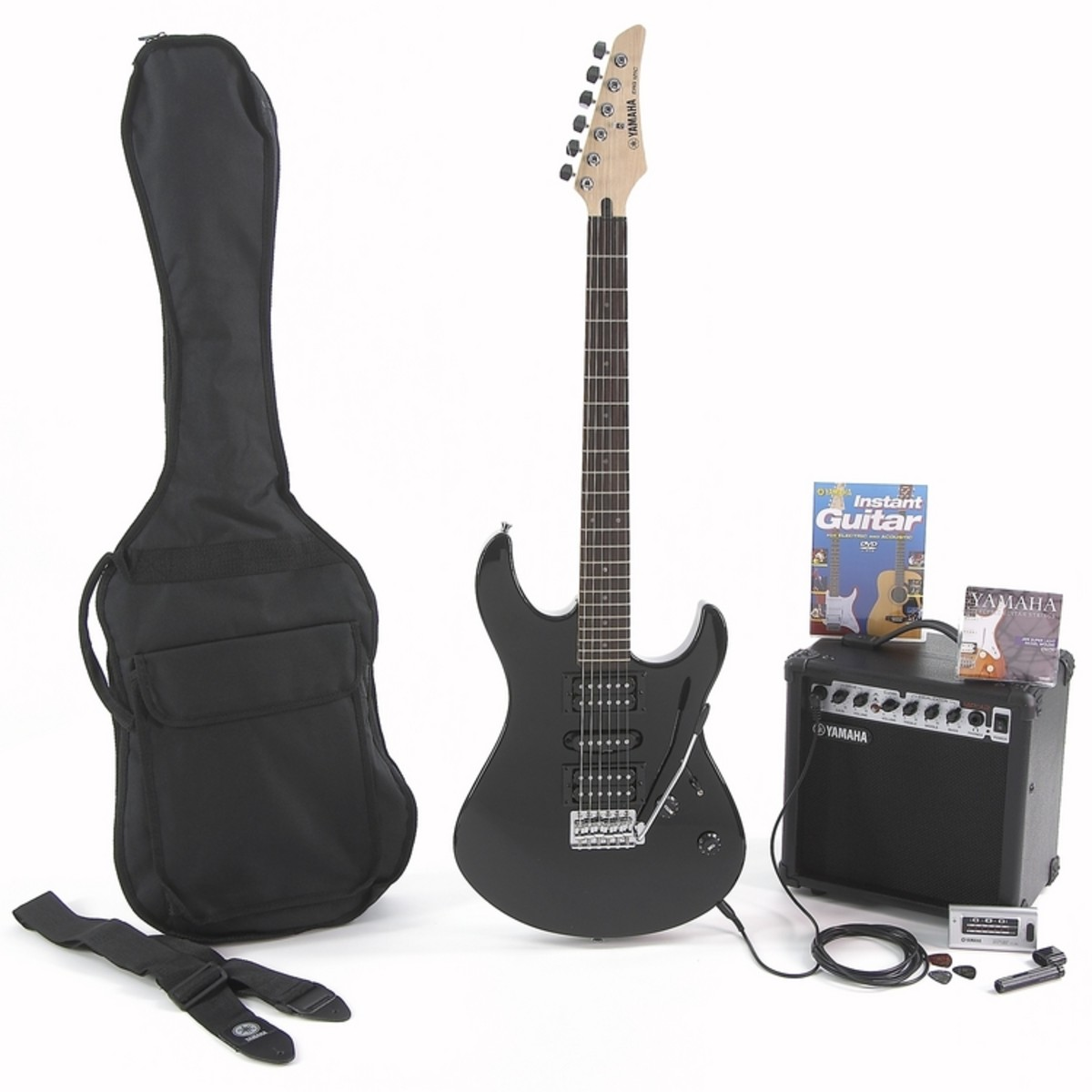 disc yamaha erg121 electric guitar starter pack black at gear4music. Black Bedroom Furniture Sets. Home Design Ideas