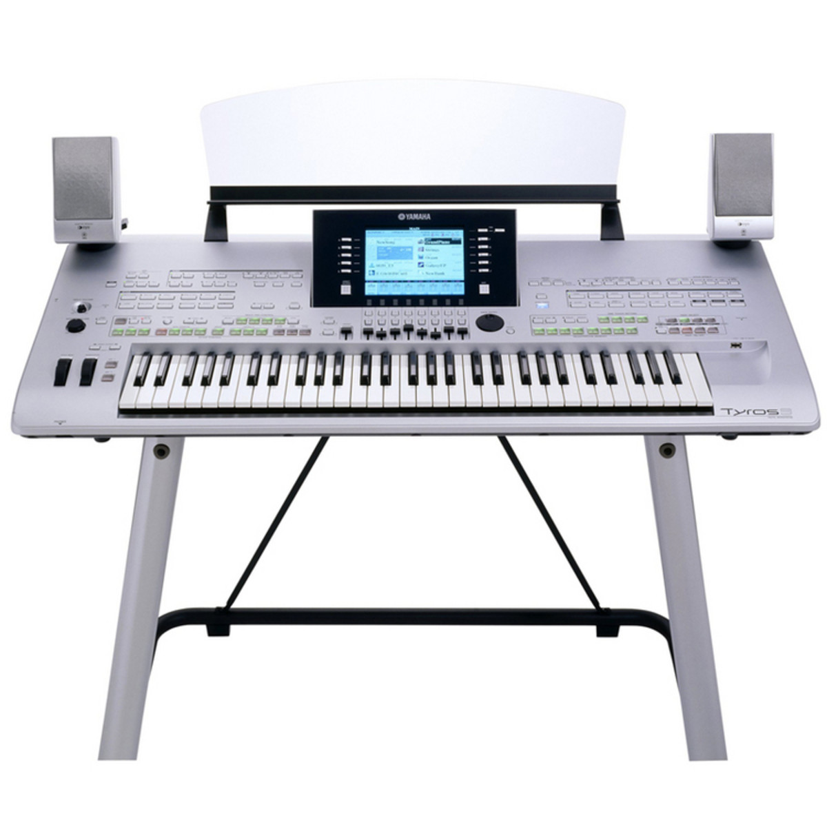 Yamaha TYROS 3 Digital Workstation Including MS02 Speakers