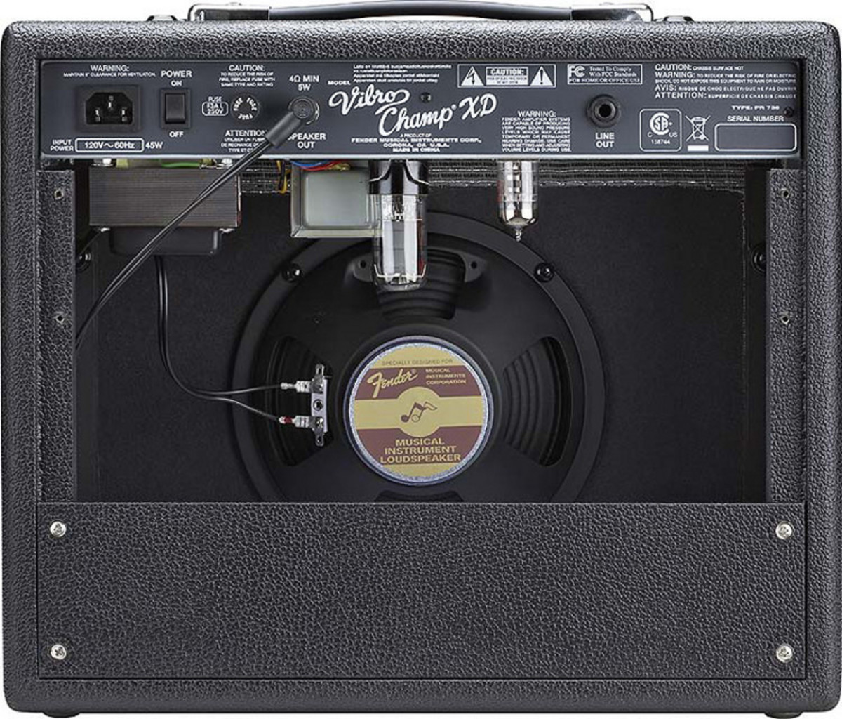 DISC Fender Vibro Champ XD - 5 Watt Class A Combo at
