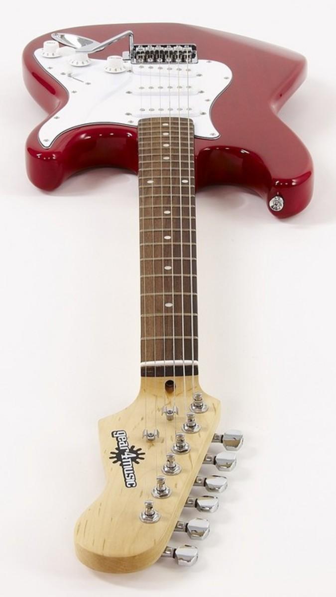 LA Elektro-Gitarre 10w Verstärker, rot bei Gear4music