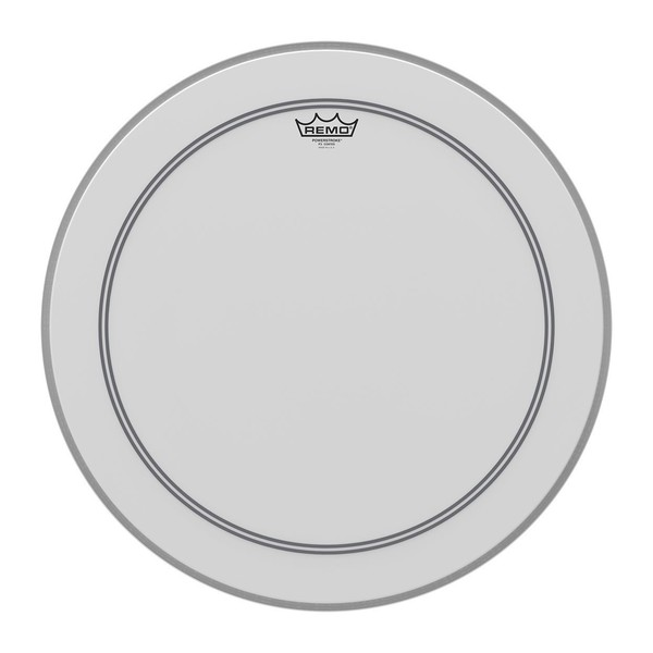 Remo Powerstroke 3 Coated 20'' Falam Patch Drum Head - Main Image