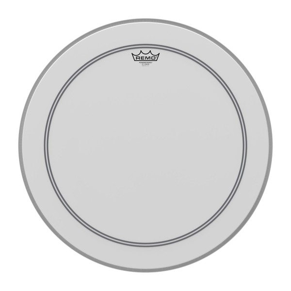 Remo Powerstroke 3 Coated 22'' Impact Patch Drum Head - Main Image