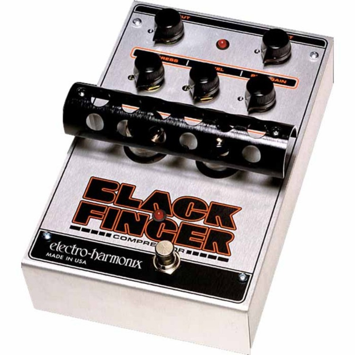 Click to view product details and reviews for Electro Harmonix Black Finger Optical Tube Compressor.