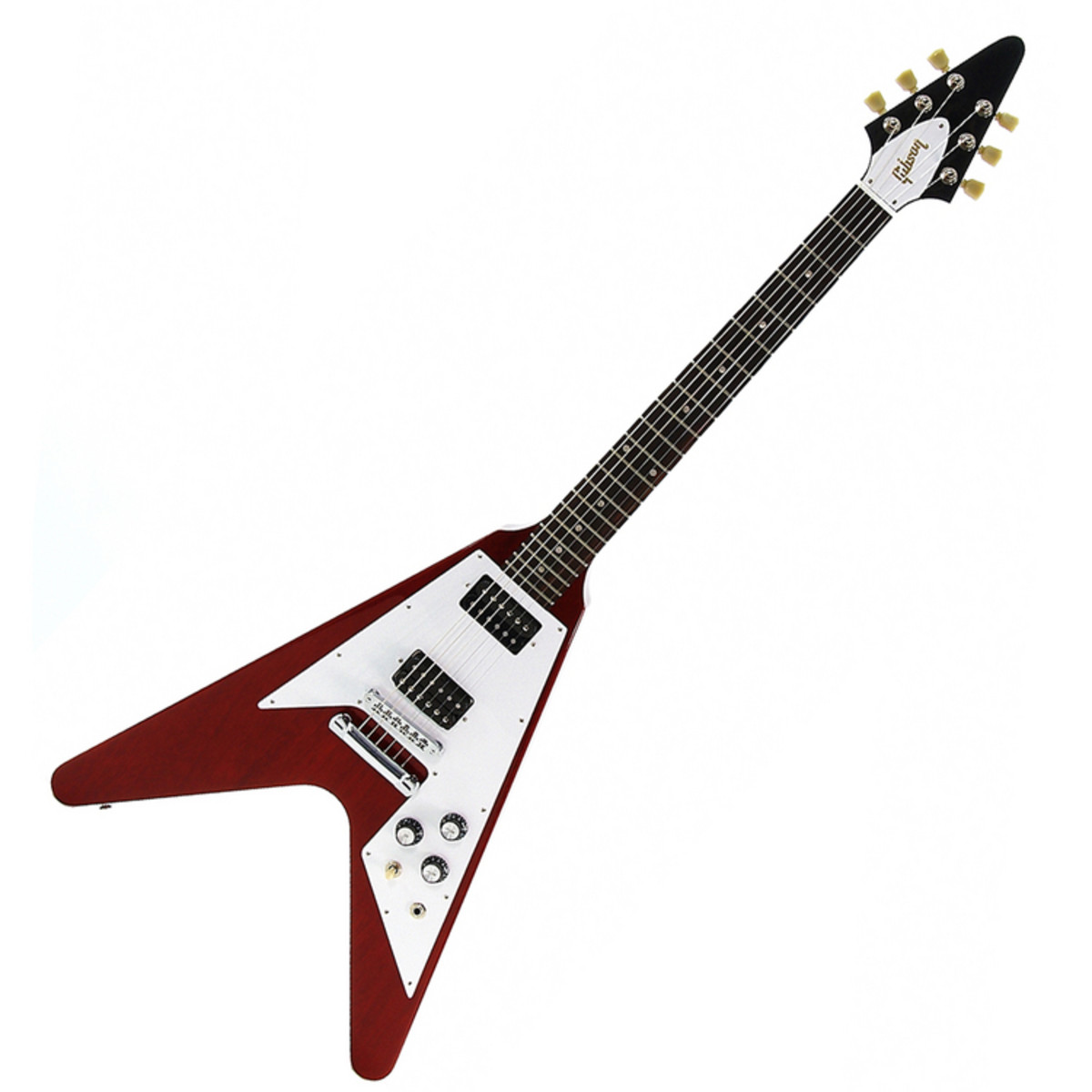 gibson 1968 2008 flying v worn cherry guitar at gear4music. Black Bedroom Furniture Sets. Home Design Ideas
