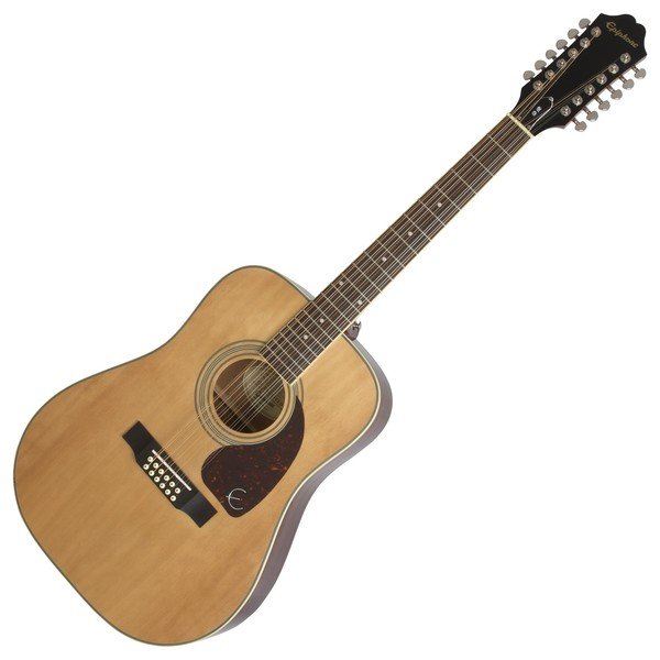 Epiphone DR-212 12-String Acoustic, Natural