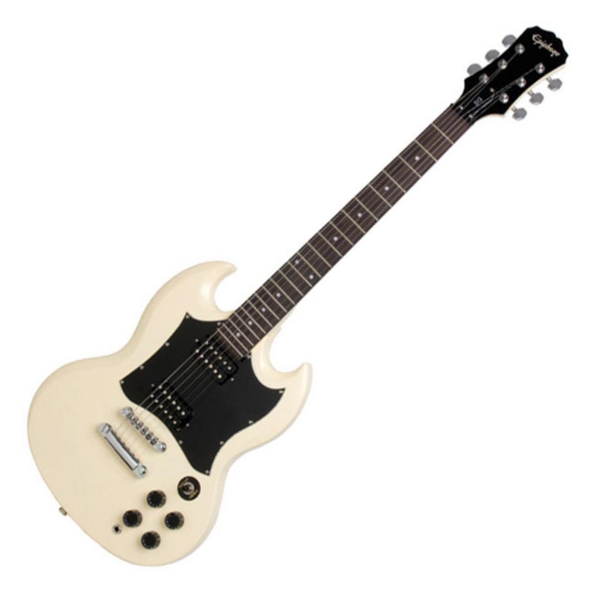 disc epiphone sg g 310 electric guitar vintage white at gear4music. Black Bedroom Furniture Sets. Home Design Ideas