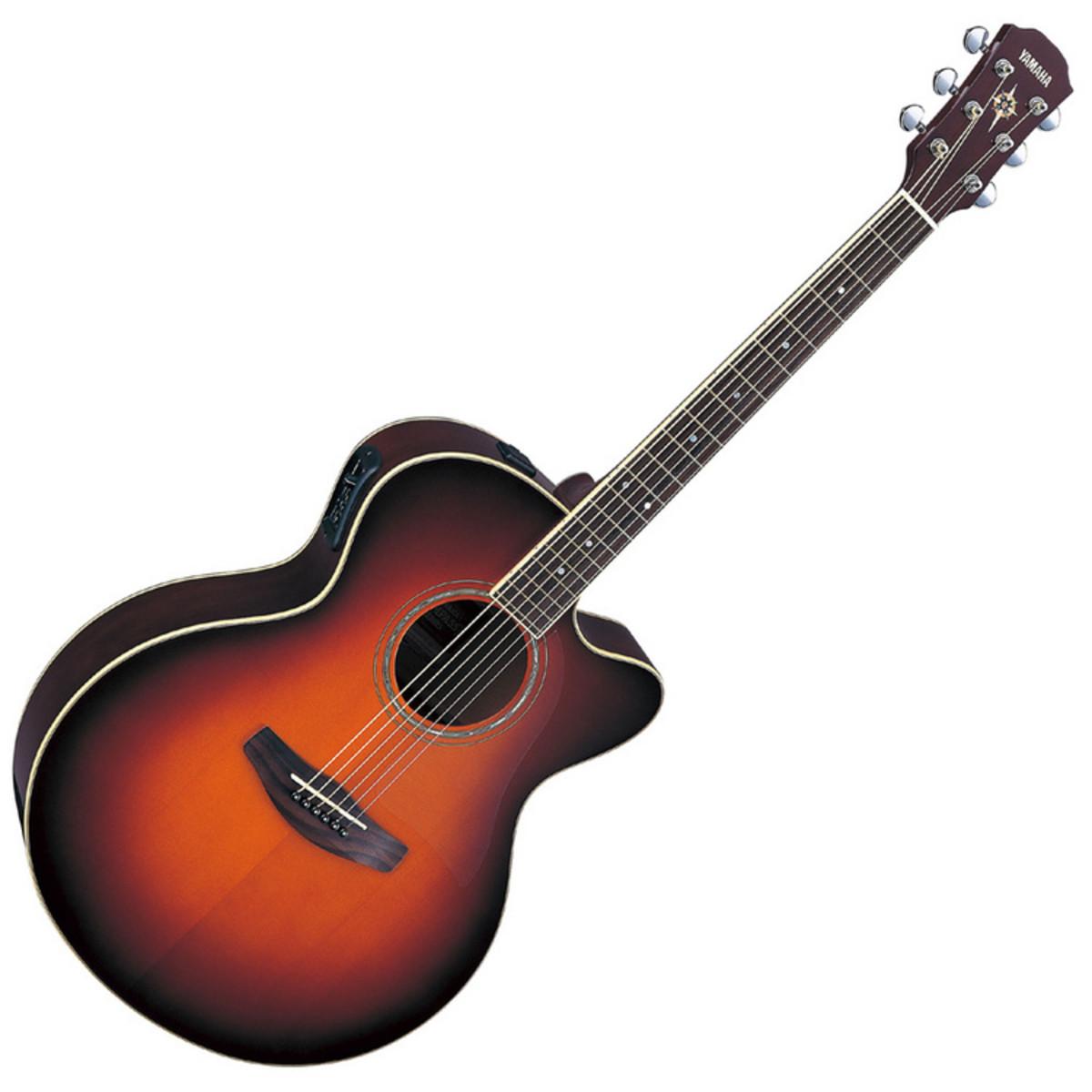 puis yamaha cpx500 electro acoustique guitare violon. Black Bedroom Furniture Sets. Home Design Ideas