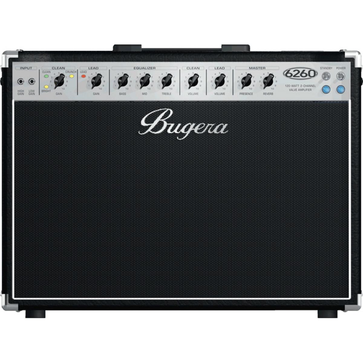 disc bugera 6260 212 120w guitar combo amp at gear4music. Black Bedroom Furniture Sets. Home Design Ideas