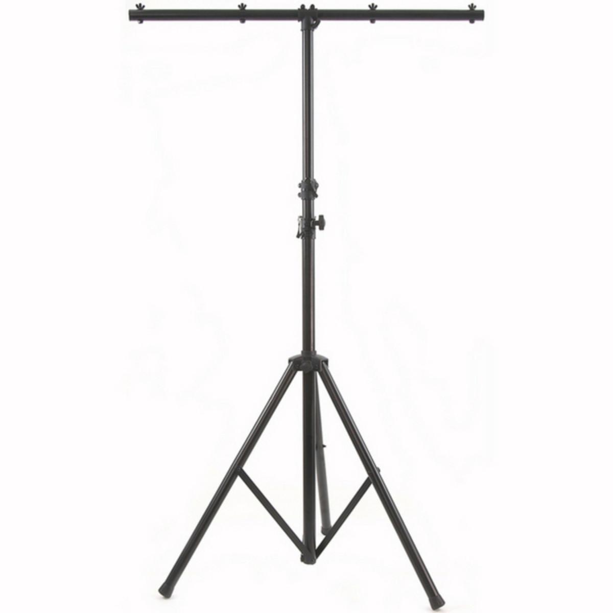 Hauteur r glable de 3 0 m clairage stand avec t bar for Eclairage stand