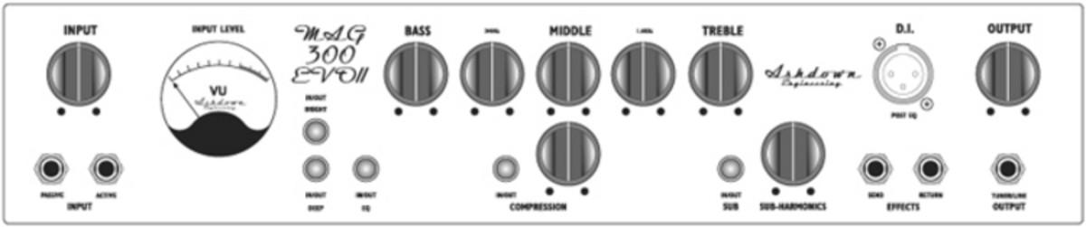 disc ashdown mag300 evo iii bass amp head at gear4music. Black Bedroom Furniture Sets. Home Design Ideas