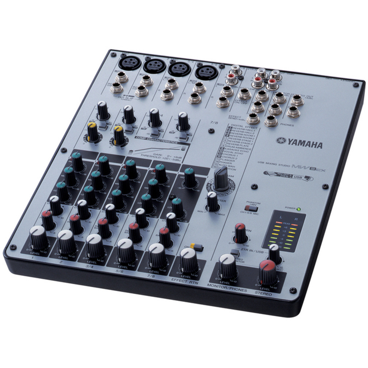 Yamaha mw8cx table de mixage usb gear4music - Table de mixage yamaha usb ...