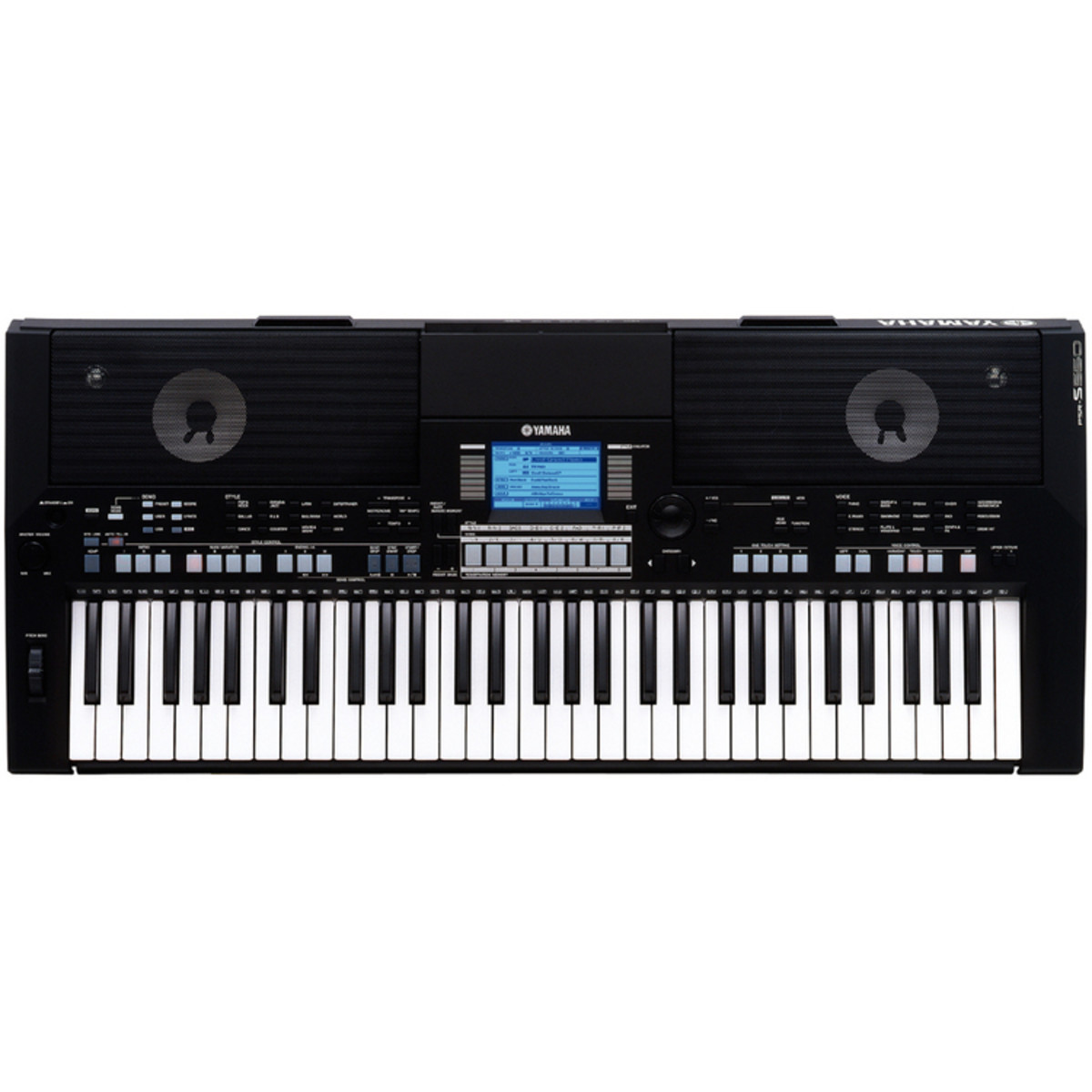 yamaha psr s550 keyboard black at. Black Bedroom Furniture Sets. Home Design Ideas