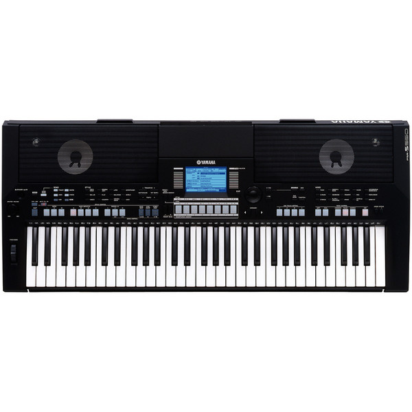 Yamaha PSR-S550 Keyboard, Black