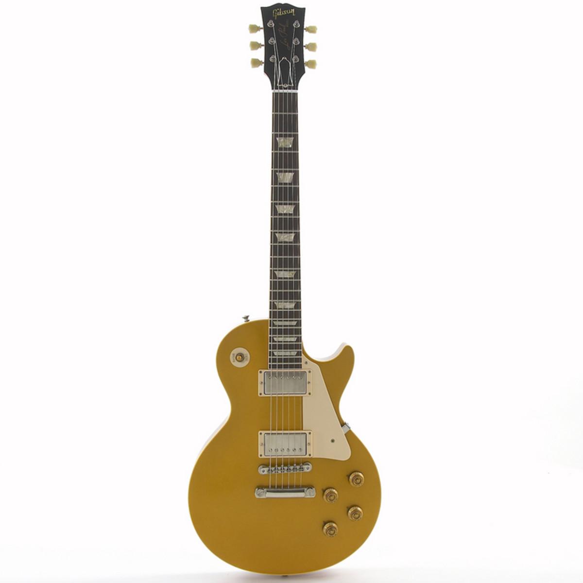 gibson les paul 1957 goldtop vos electric guitar at gear4music. Black Bedroom Furniture Sets. Home Design Ideas