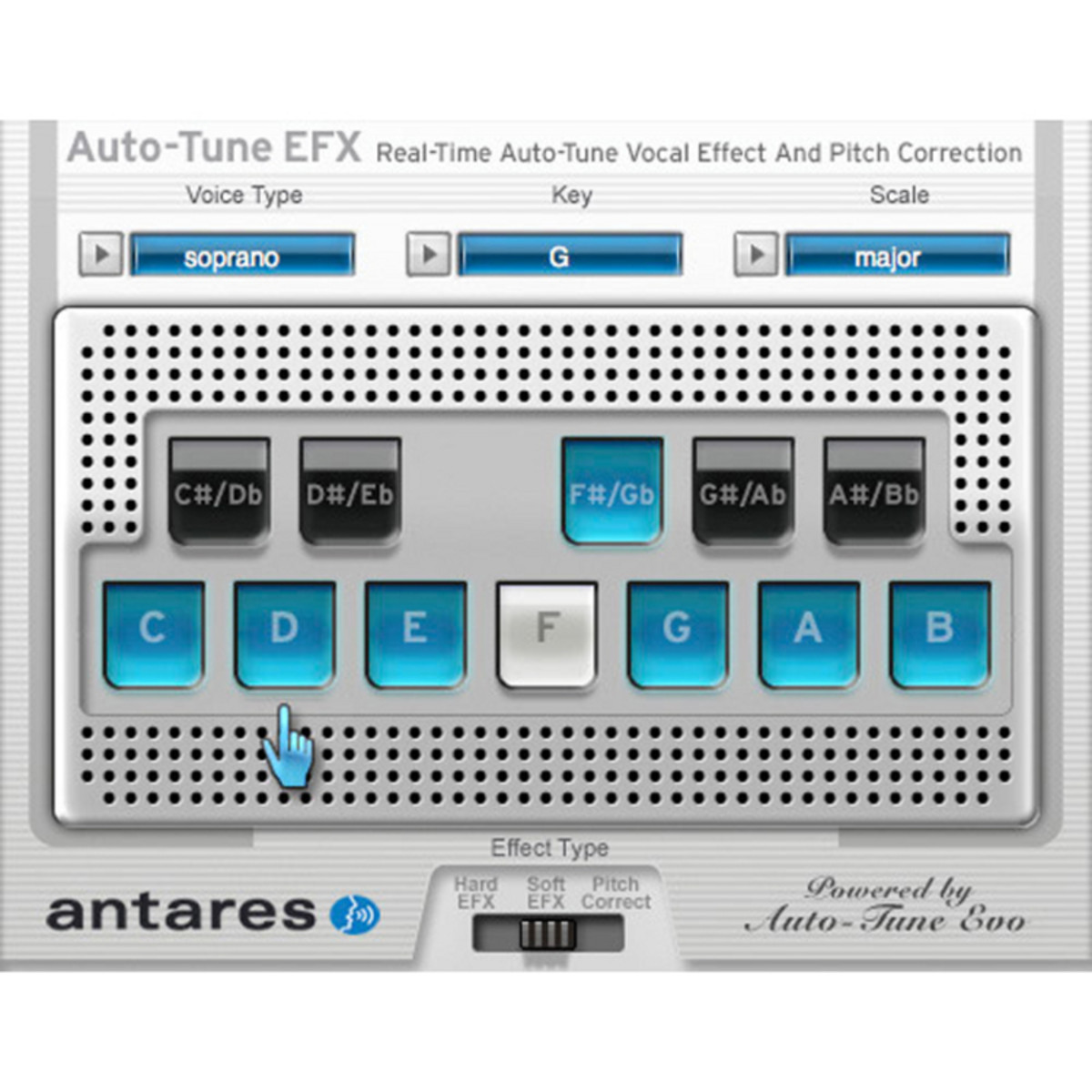 disc antares auto tune efx 2 pitch correction software at gear4music ie