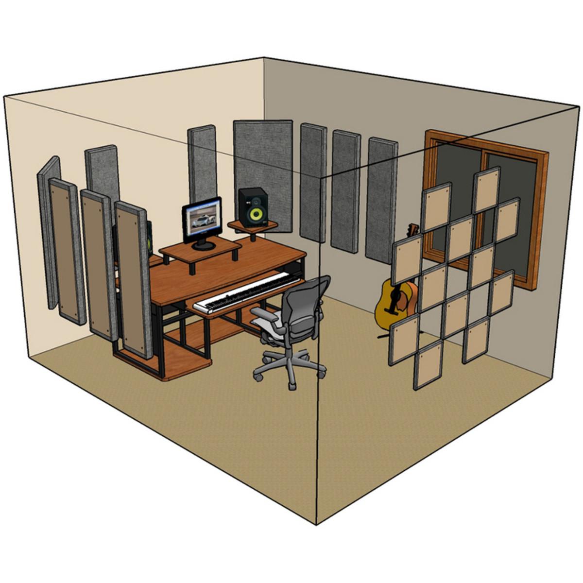 Primacoustic London 12 Room Kit In Black