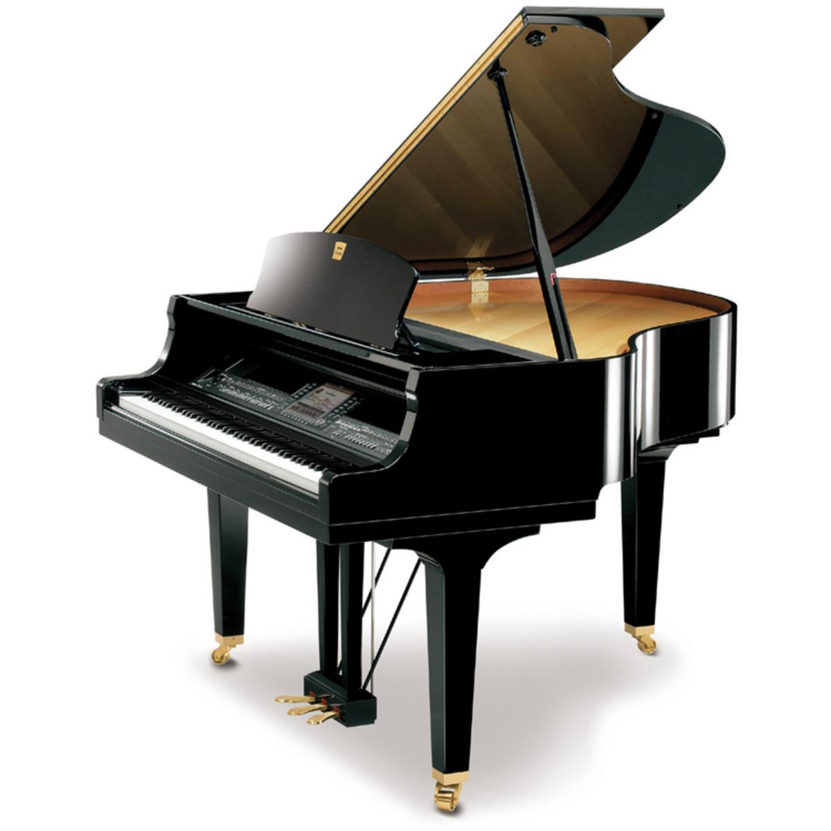 Disc Yamaha Clavinova CGP1000 Digital Grand Piano, Ebony at ...