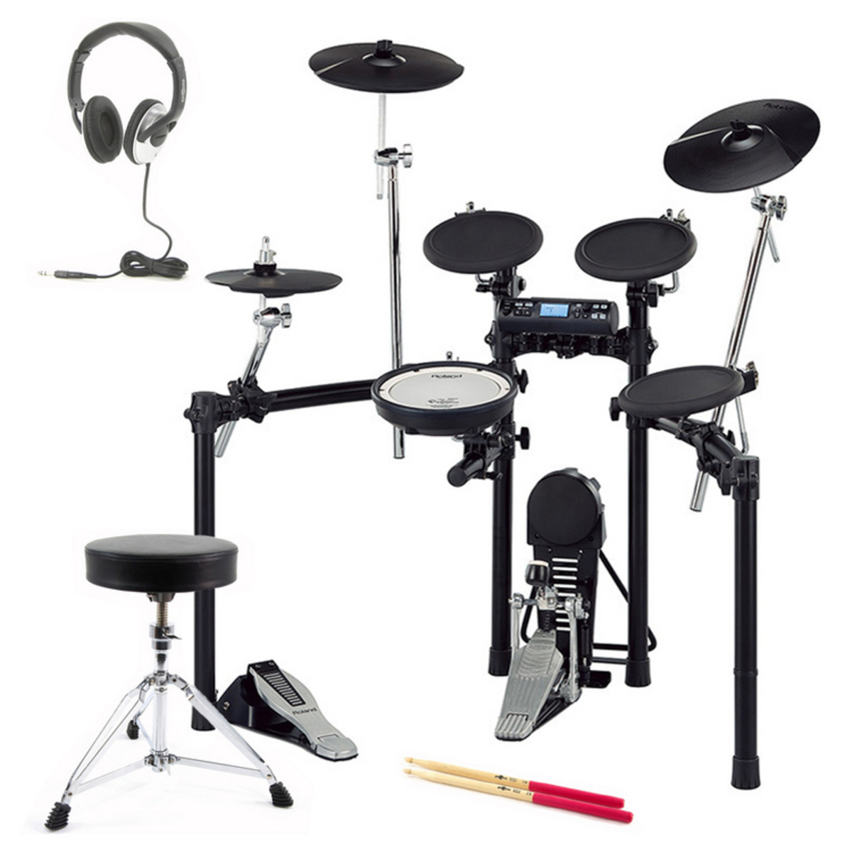 roland td 4k v drum digital drum kit package at gear4music. Black Bedroom Furniture Sets. Home Design Ideas