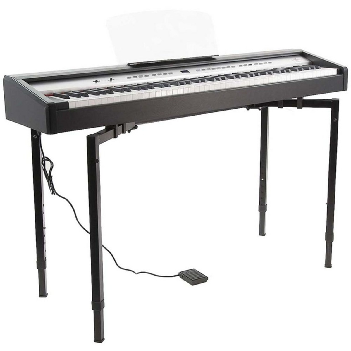 pl 650s digital stage piano keyboard stand at gear4music. Black Bedroom Furniture Sets. Home Design Ideas