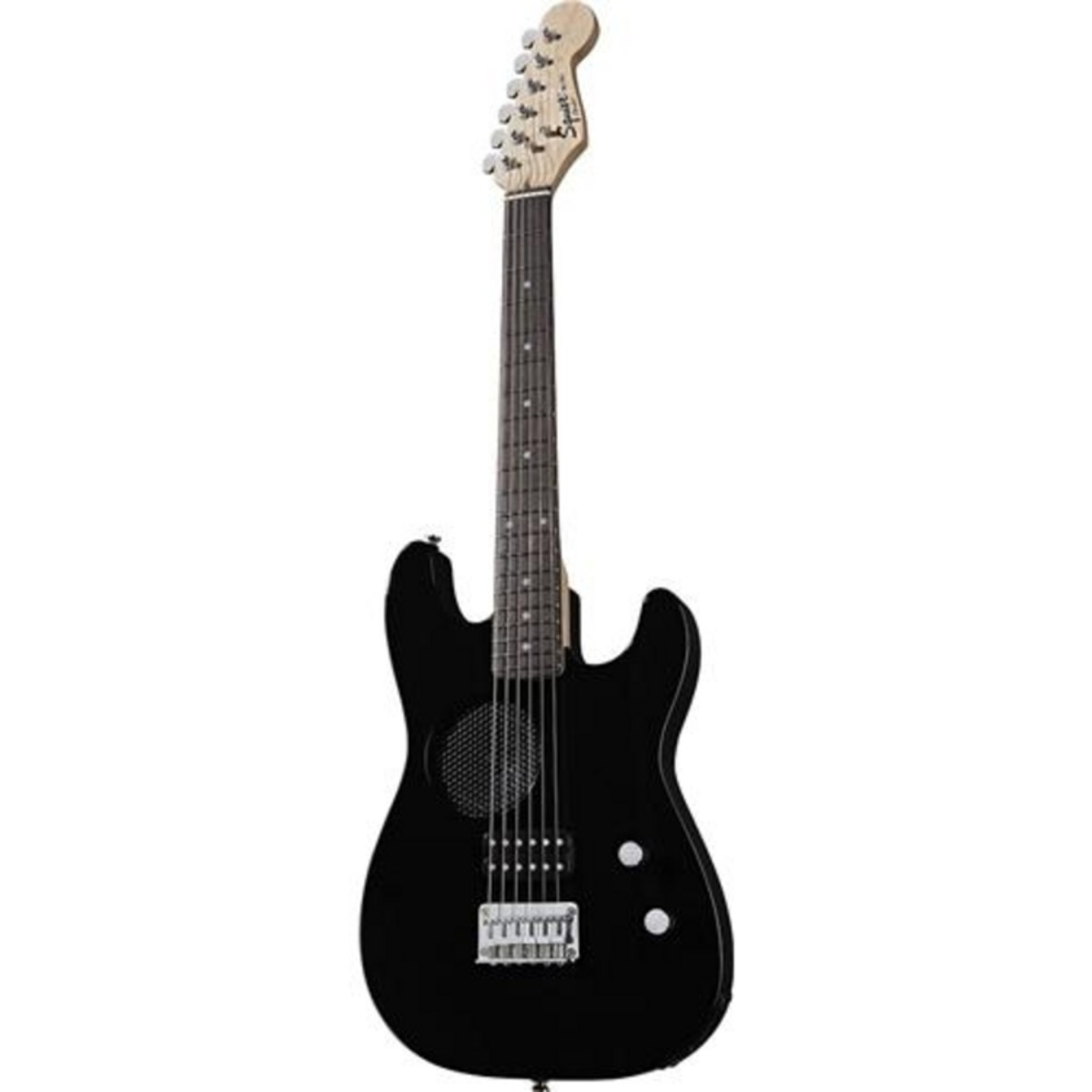 Disc Squier By Fender Mini Player Guitar Built In Amp Rw Black Behringer Strat Squire Wire Diagram 0300105506 Loading Zoom