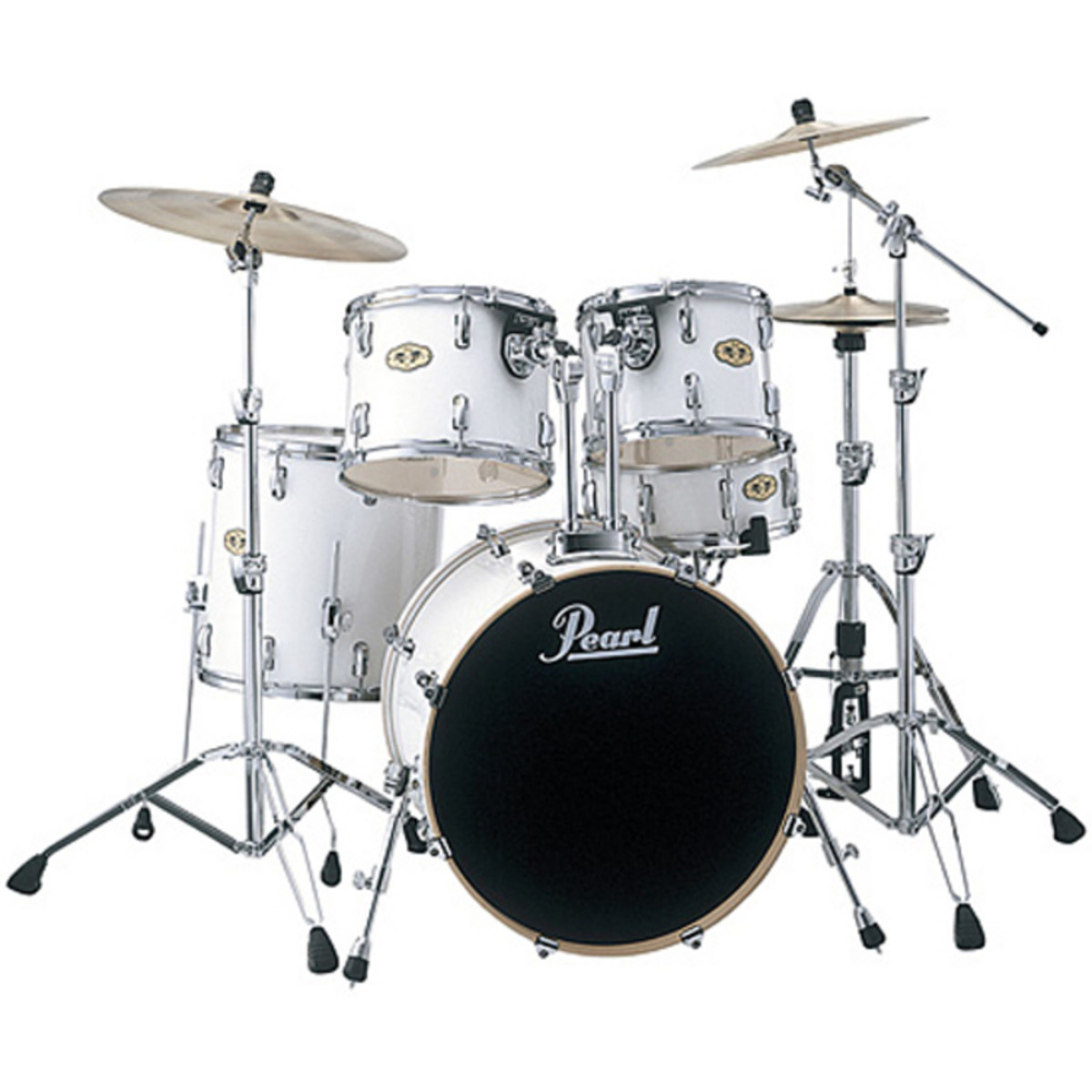 disc pearl vision vmx maple drum kit ex demo white at gear4music. Black Bedroom Furniture Sets. Home Design Ideas