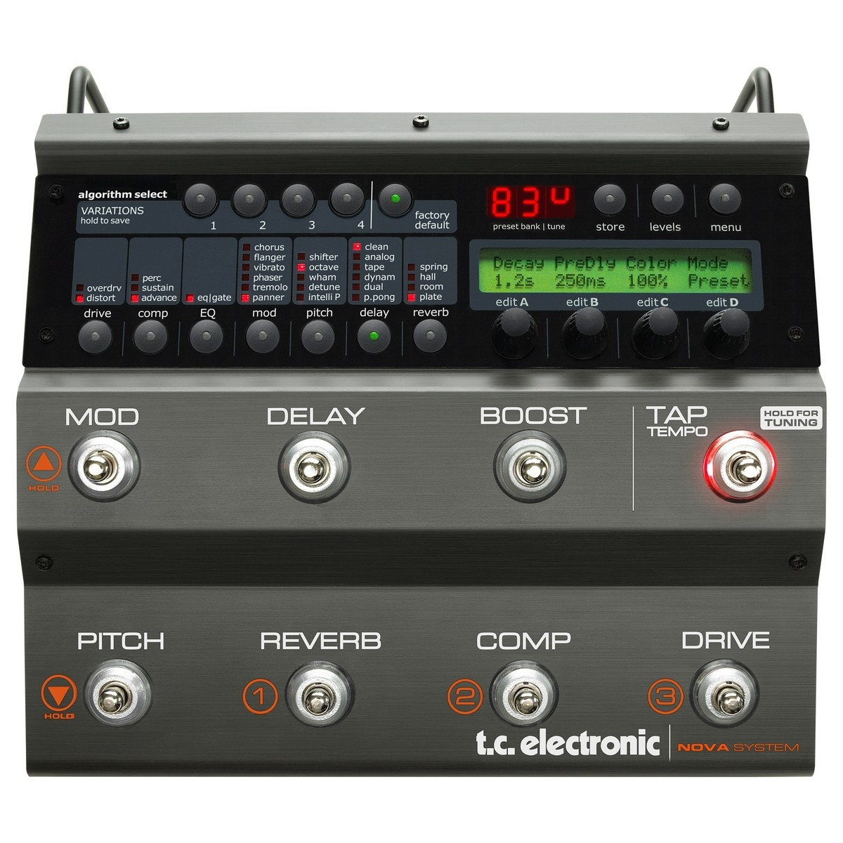Click to view product details and reviews for Tc Electronic Nova System Guitar Effects Processor.