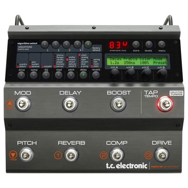 TC Electronic Nova System Guitar Effects Processor Front