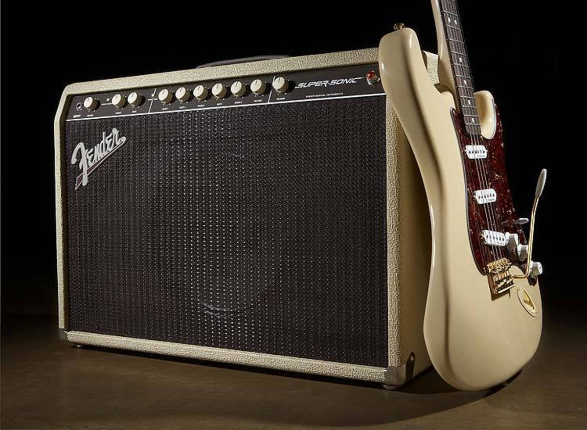 Fender Supersonic 112 60w Valve Guitar Combo Amp At