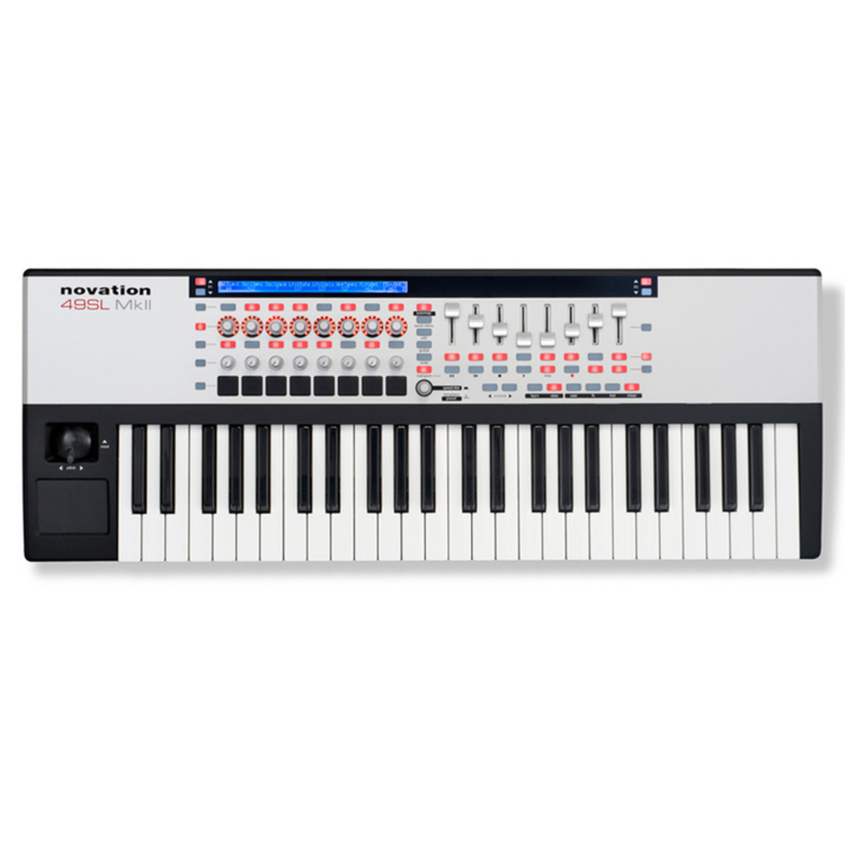novation 49 sl mk2 midi controller keyboard at gear4music. Black Bedroom Furniture Sets. Home Design Ideas