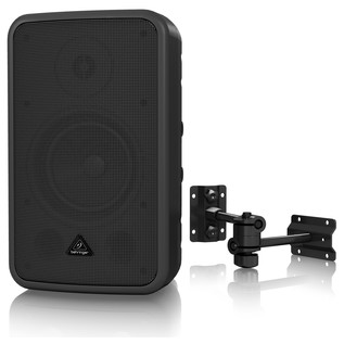 Behringer CE500A Active Environment PA Speaker, Black