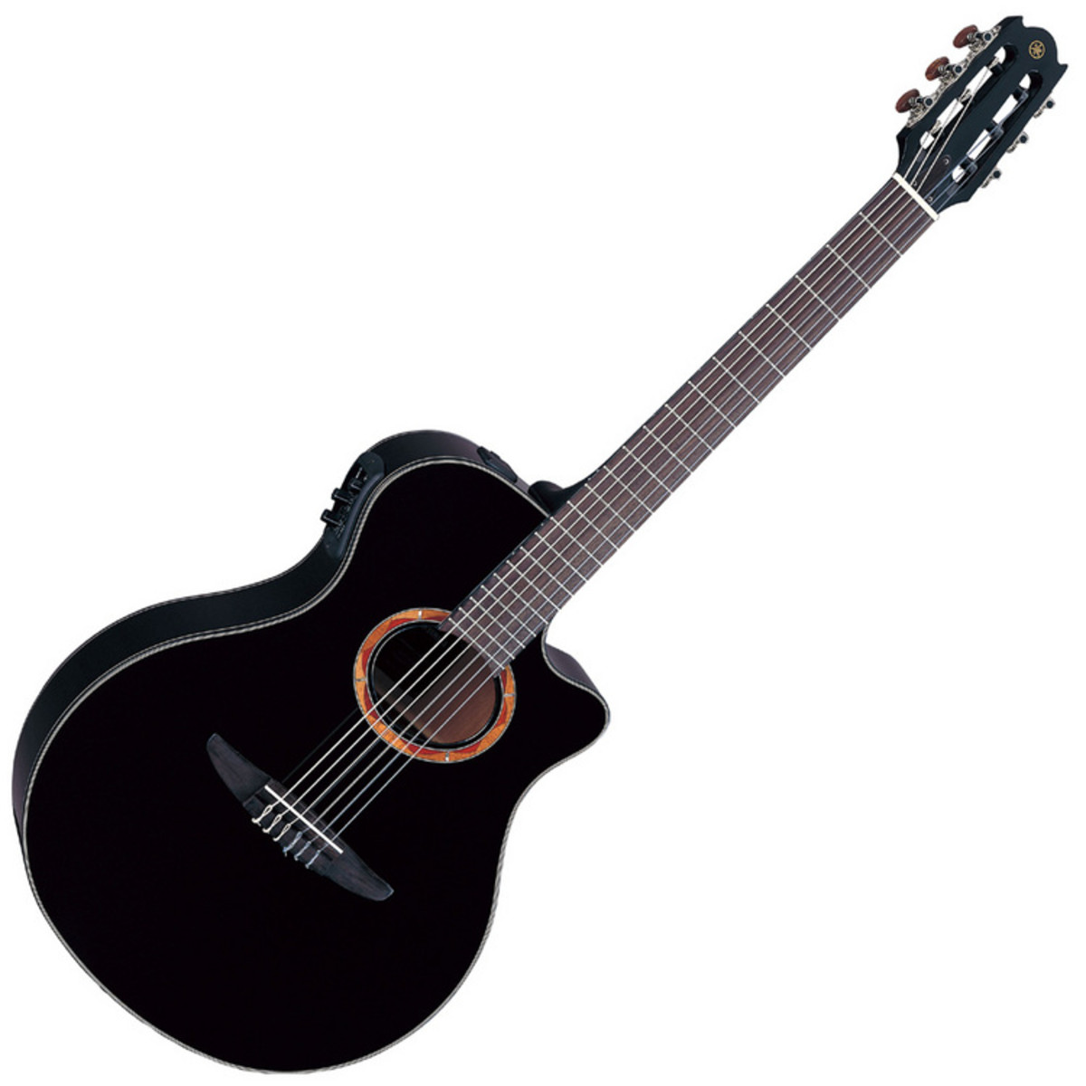 yamaha ntx700 electro acoustic guitar black at