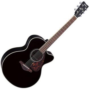 Yamaha FJX720SC Electro Acoustic Guitar, Black