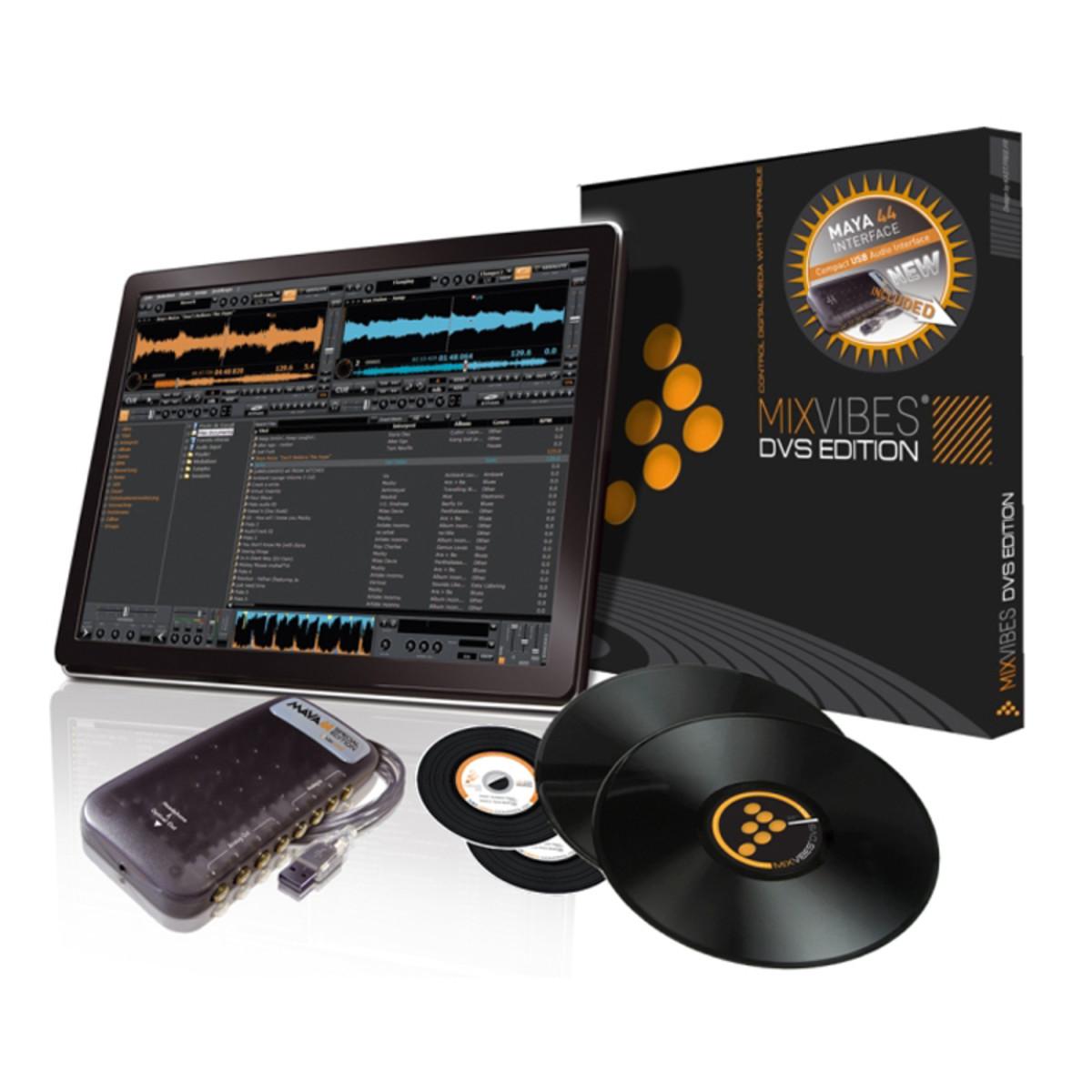 disc mixvibes dvs 7 digital vinyl dj system at. Black Bedroom Furniture Sets. Home Design Ideas