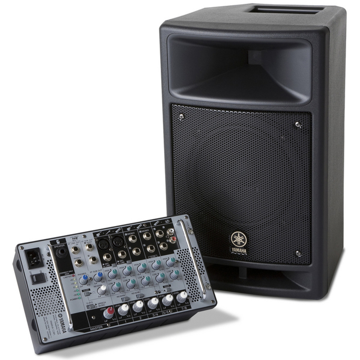 Yamaha stagepas 150m portable pa system at for Yamaha portable pa system