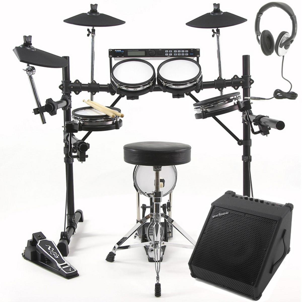 Alesis DM5 Pro Drum Kit Amp Package Deal