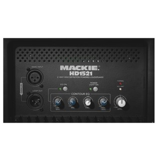 Mackie HD1521 Active PA Speaker, Mixer