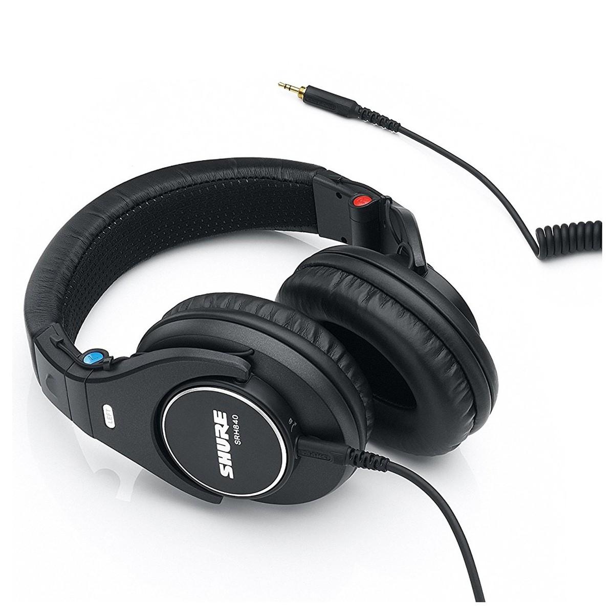Shure SRH840 Professioneller Referenz Studiokopfhörer bei Gear4music