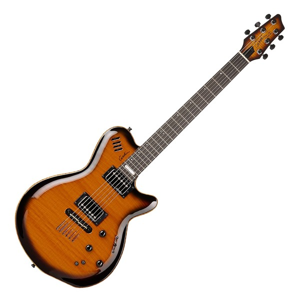 Godin LGX-SA Electric Guitar in Cognac Burst