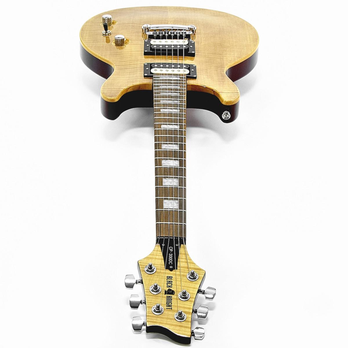 Black Knight CP-300DC Double Cutaway E-Gitarre bei Gear4music