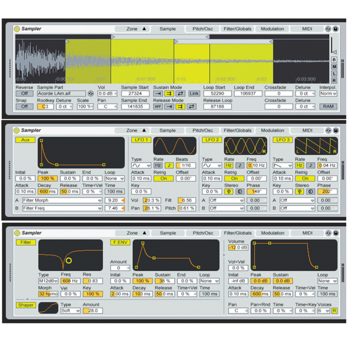 DISC NL Ableton SAMPLER Software Sampler for Ableton Live