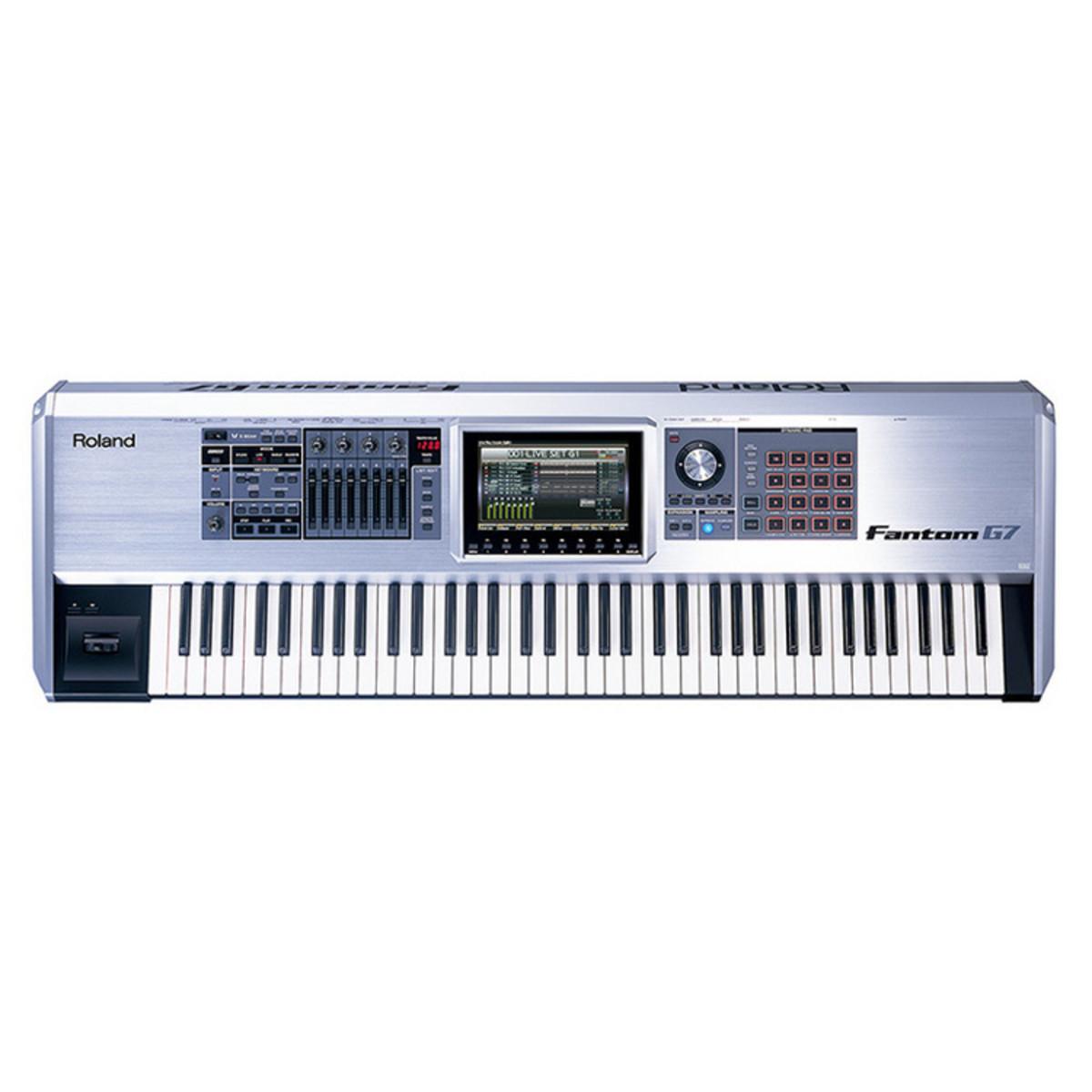 roland fantom g7 keyboard workstation at gear4music. Black Bedroom Furniture Sets. Home Design Ideas