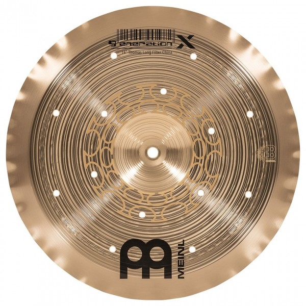 "Meinl Generation X 14"" Filter China Cymbal"
