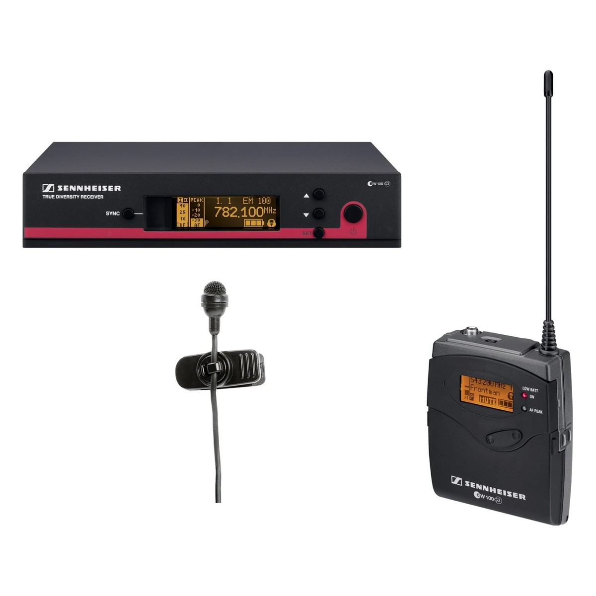 sennheiser ew 122 e g3 wireless lavalier microphone system at gear4music. Black Bedroom Furniture Sets. Home Design Ideas