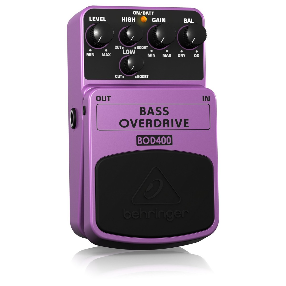 Click to view product details and reviews for Behringer Bod400 Bass Overdrive Pedal.
