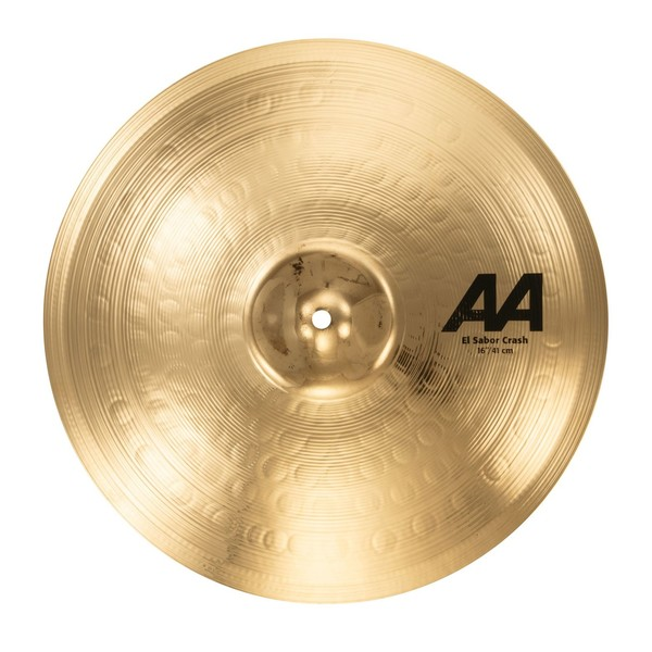 Sabian AA El Sabor 16'' Crash Cymbal, Brilliant Finish