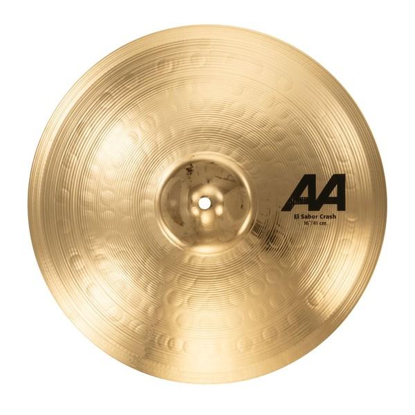 Sabian AA El Sabor 16'' Crash Cymbal, Brilliant Finish