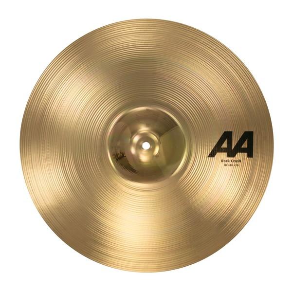 Sabian AA 18'' Rock Crash Cymbal, Brilliant Finish - main image